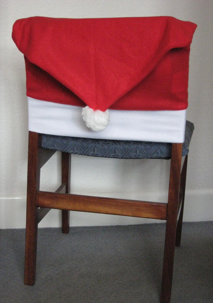 Marvelous 4X Santa Hat Christmas Dining Chair Covers In Southampton Hampshire Gumtree Andrewgaddart Wooden Chair Designs For Living Room Andrewgaddartcom