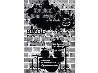 Private drum lessons in hednesford/cannock area. Very good prices