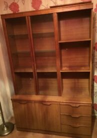 Well built display cabinet