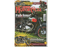 Six Issues of The Classic Motorcycle Magazine. January 2018 to June 2018.