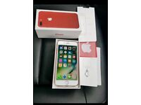 iPhone 7 Plus 128gig Unlocked Red limited edition under Warrenty