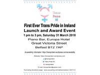 Trans Pride NI Launch and Award Event