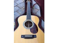 Martin OM-42 Acoustic Guitar With Martin Geib Case
