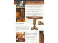 Solid Teak Pub/Cafe/Restaurant/Man cave/Conservatory Furniture - Chairs and Tables