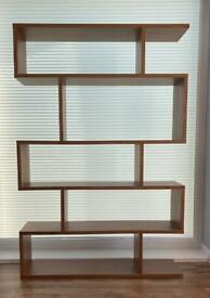 Content by Terence Conran Balance Tall Shelving, Walnut