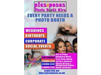 Photo Booth Hire for Weddings & Parties