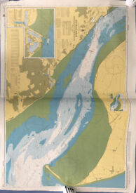 Various Nautical Charts - Perfect for Display or Arts and Crafts