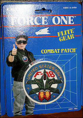 Ertl Flite Gear Combat Patch - United States Navy F-18