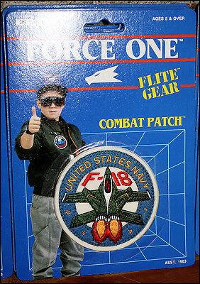 Ertl Flite Gear Combat Patch - United States Navy F-18