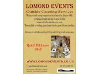 Outside Catering Services Based in Fife