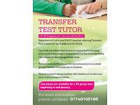 TRANSFER TEST TUTOR