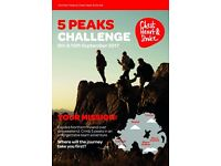 5 Peak Challenge - Northern Ireland Chest Heart and Stroke