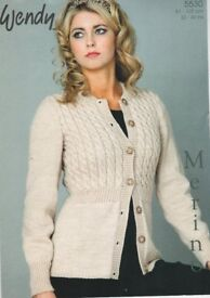 Brand new Easy Wendy ladies cable buttoned autumn thick cardigan