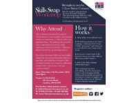 Skills swap workshop