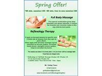 Full Body Massage - Reflexology Therapy