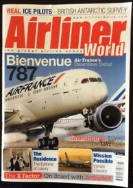 PRIVATE COLLECTION OF AIRLINE AND AIRCRAFT MAGAZINES, BOOKS AND PARAPHERNALIA FOR SALE