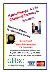 Hypnotherapy training class