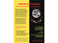 A World in Transition - Public Presentation (Admission free)