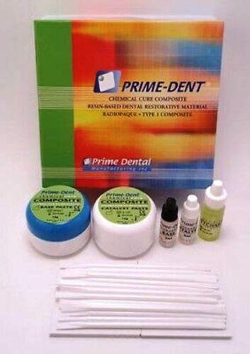 Prime Dent Chemical Self Cure Composite Kit 15gm15gm & Bonding USA SHIPS FAST
