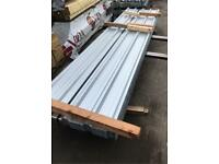 Galvanised 3.6M Box Profile Roof Sheets ~ New
