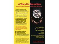 A World in Transition (Public Presentation + Q&A)