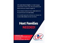 Host families needed for our next students!