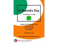 St. Patrick's Day at Angela Court
