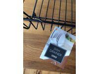 Black Matte Dish / Drying Rack BRAND NEW