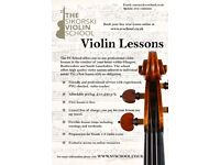 Violin lessons in Glasgow, South Lanarkshire and Renfrewshire.