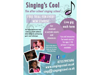Free taster singing lesson for kids in Hove