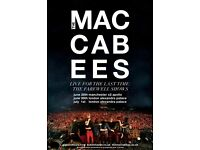 4x The Maccabees standing tickets, Alexandra Palace London, Saturday 1st July 2017