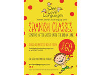 Spanish for children with WEE LOVE LANGUAGES