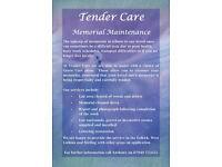 Tender Care Memorial Maintenance