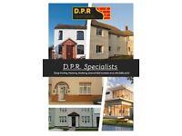 Damp proofing, Dry/Wet Rot treatment, Rendering, Plastering