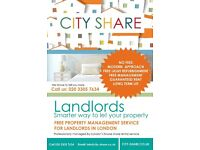LANDLORDS, WE RENT YOUR PROPERTY FROM YOU, OFFER GUARANTEED RENT, LONG TERM LET, LONDON AREA