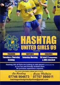 Girls u9 (Year 3/ 4) Football Team - Players Required - Billericay, Essex