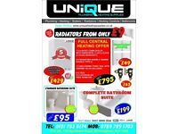 Pure 4PC Bathroom Suite - £170.00 only - Cheap Price