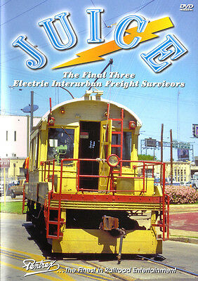Juice - The Final Three Electric Interurban Freight Survivors DVD Pentrex NEW! (Juicing Documentary)