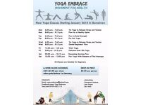 New Year Community Yoga Classes in Gorseinon Institute