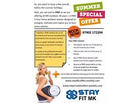 FREE Summer Weight Loss Special Offer