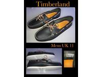 Timberland mens UK size 11 navy 2 tone