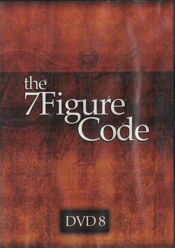 The 7 Figure Code Set Internet Marketing David Cavanagh How To Integrate DVD 8 - $9.89