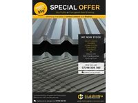 Steel Roofing Sheets Available For Sale In Either Box Profile or Corrugated