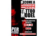 Tattoo model competition
