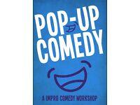 Pop Up Improv Comedy Workshop
