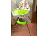 Bebe Style Deluxe 3-in-1 Modern Highchair/ Junior Chair and Booster