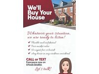 We'll buy your house