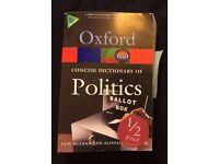 Oxford Dictionary of Politics