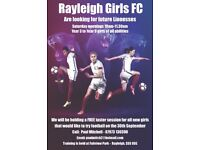 **** Rayleigh Girls Football ****