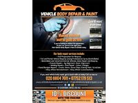 Need urgent car body repair and painters